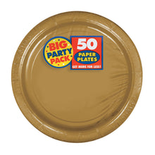 Load image into Gallery viewer, Party Pack Paper Dessert Plates 50ct