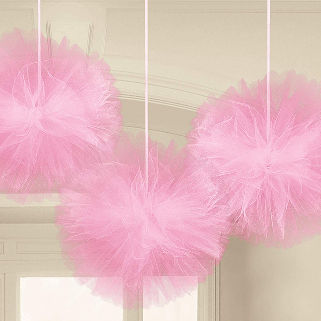 Tulle Fluffy Hanging Decorations