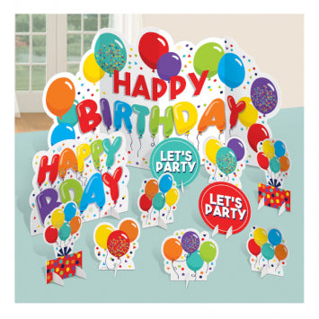 Birthday Celebration Table Decorating Kit