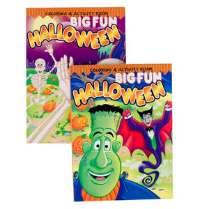 Halloween Coloring / Activity Book