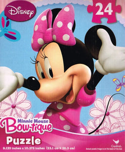 Minnie Mouse Bow-tique 24 Piece Puzzle