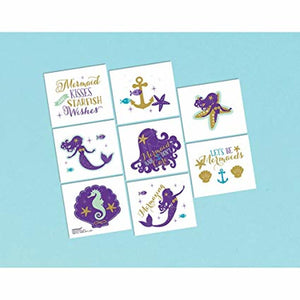 Mermaid Tattoo Squares