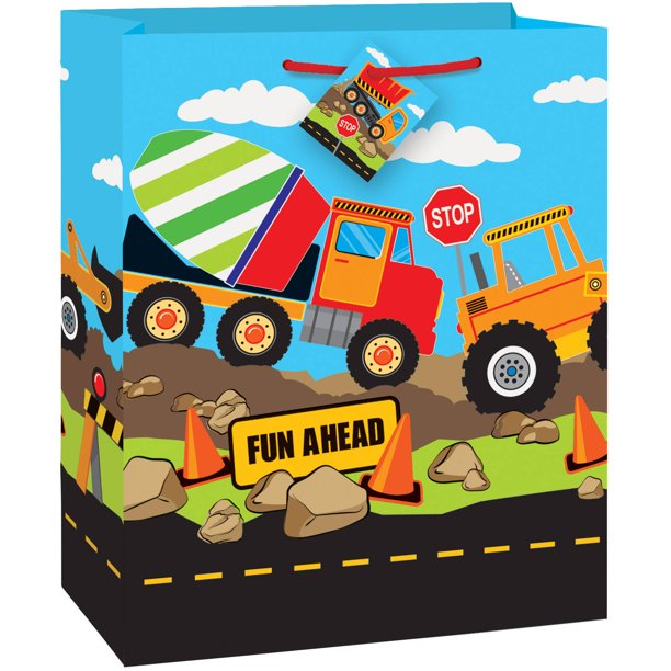 Construction Party Gift Bag