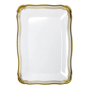 Aristocrat Gold Rectangle Serving Tray