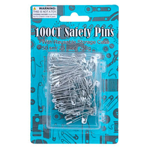 Safety Pins, 100 ct.