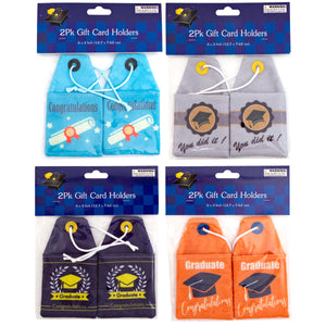 Graduation Gift Card Holder 2Pk