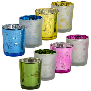 Colored Votive Candle Holder