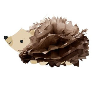 Hedgehog Party Hanging Cutout