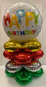 Mylar Only Tabletop Centerpiece