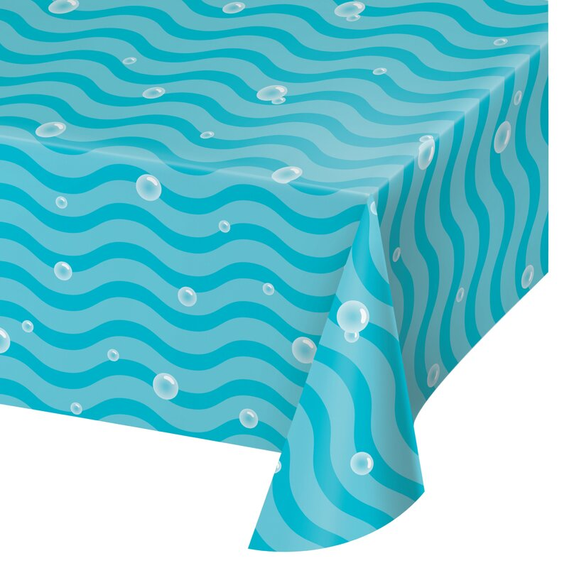 Narwhal Party table cover