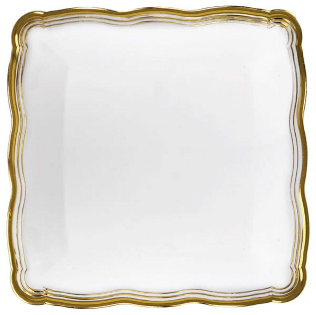 Aristocrat Gold Square Serving Tray