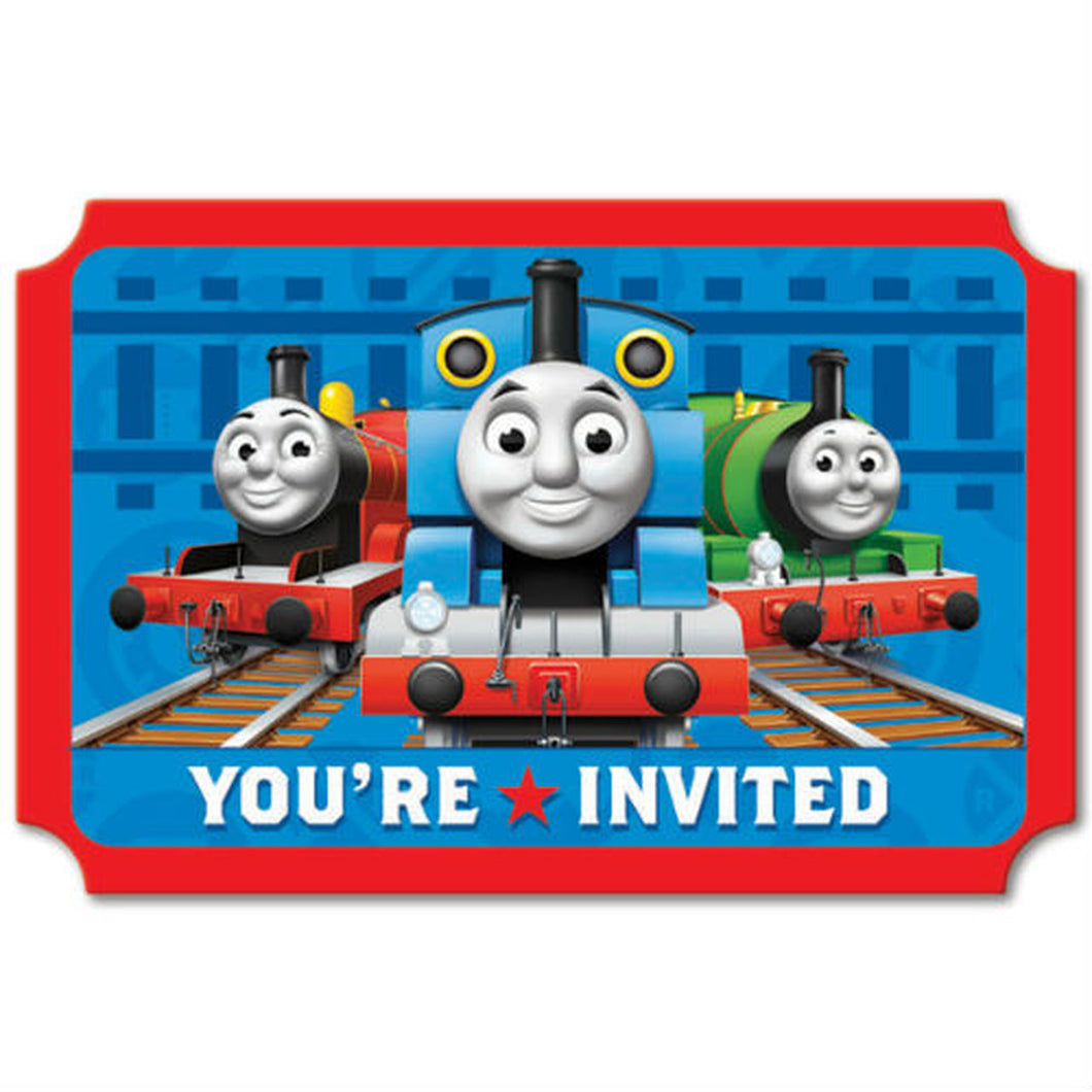 Thomas and Friends Invitations