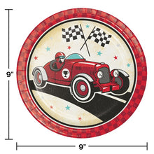 Load image into Gallery viewer, Vintage Race Car Tableware