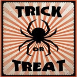 Trick or Treat Spider Napkins