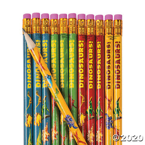 Dinosaur Pencil Favors
