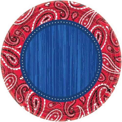 Bandana and Blue Jeans Tableware Pattern