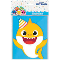 Baby Shark Invitations
