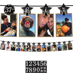 Add-Any-Age Photo Garland