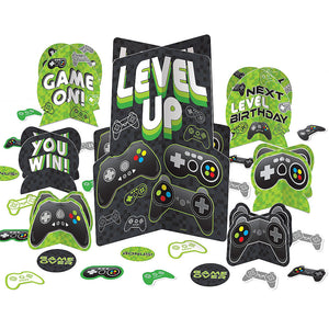 Game On Table Decorating Kit