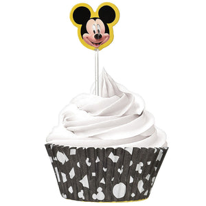 Mickey Mouse Cupcake Liners and Picks