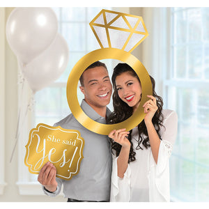 Engagement Photo Booth Frame Kit 2pc