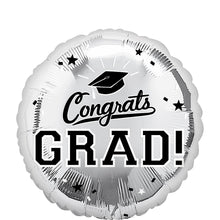 Load image into Gallery viewer, Congrats Grad Helium Foil Balloon