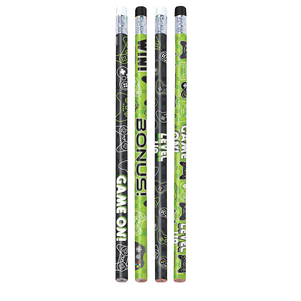 Game On Pencil Favors