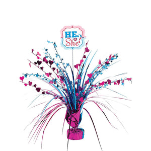 He or She Spray Centerpiece
