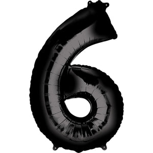 "Large 34"" Helium SuperShape Numbers"