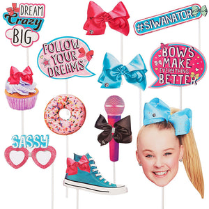 JoJo Siwa Photo Booth Props