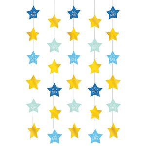 Metallic Gold It's A Boy String Decorations