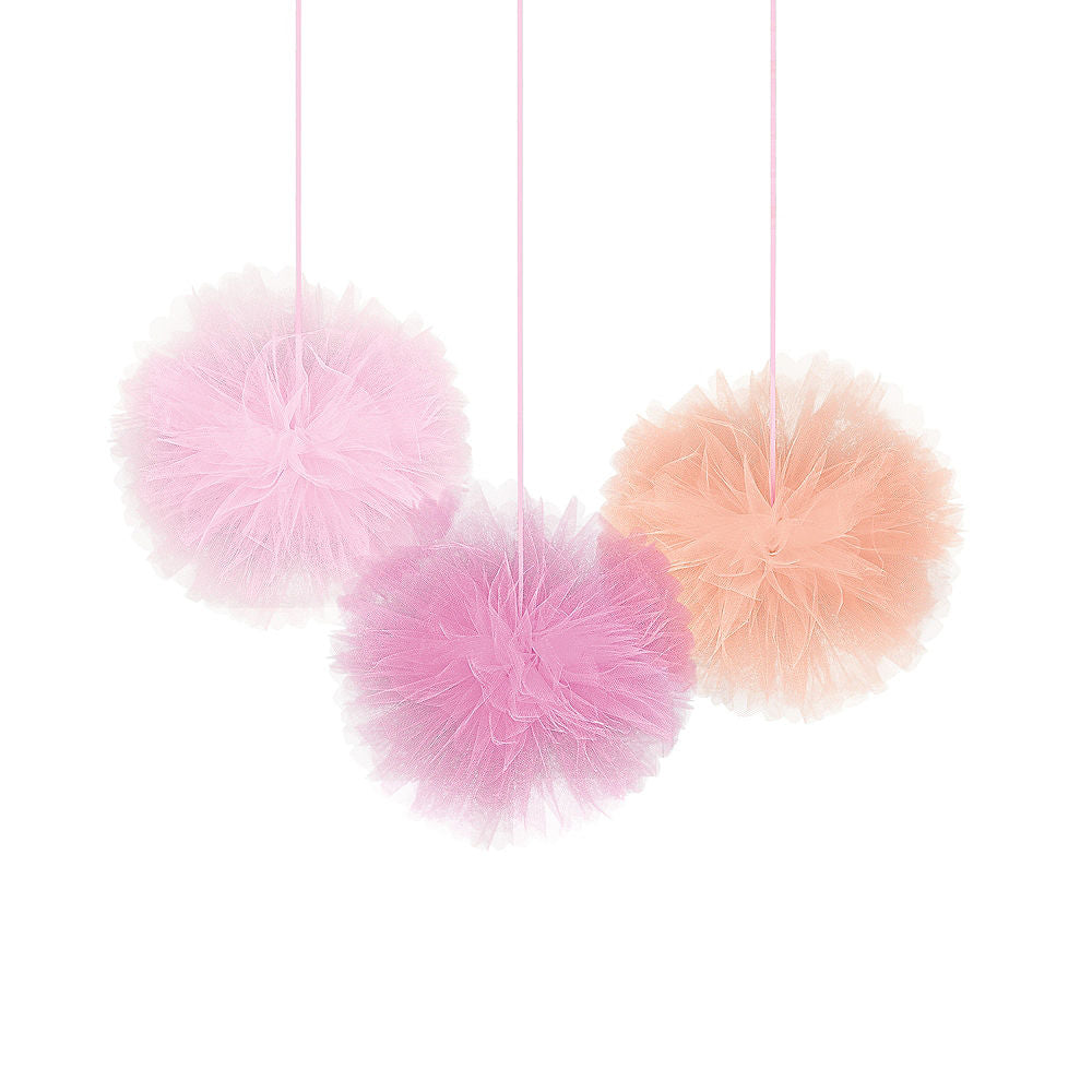 Tulle Fluffy Decorations