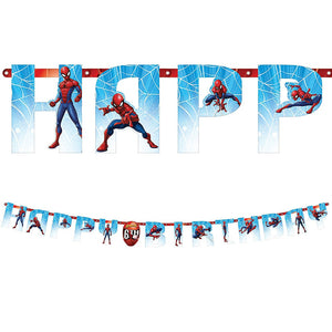 Spider-Man Add-An-Age Jumbo Letter Banner Kit