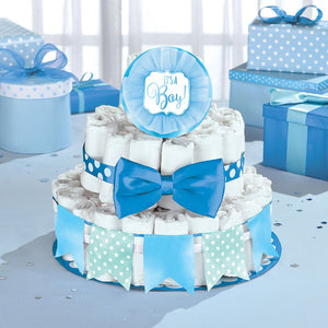 It's a Boy Diaper Cake Kit