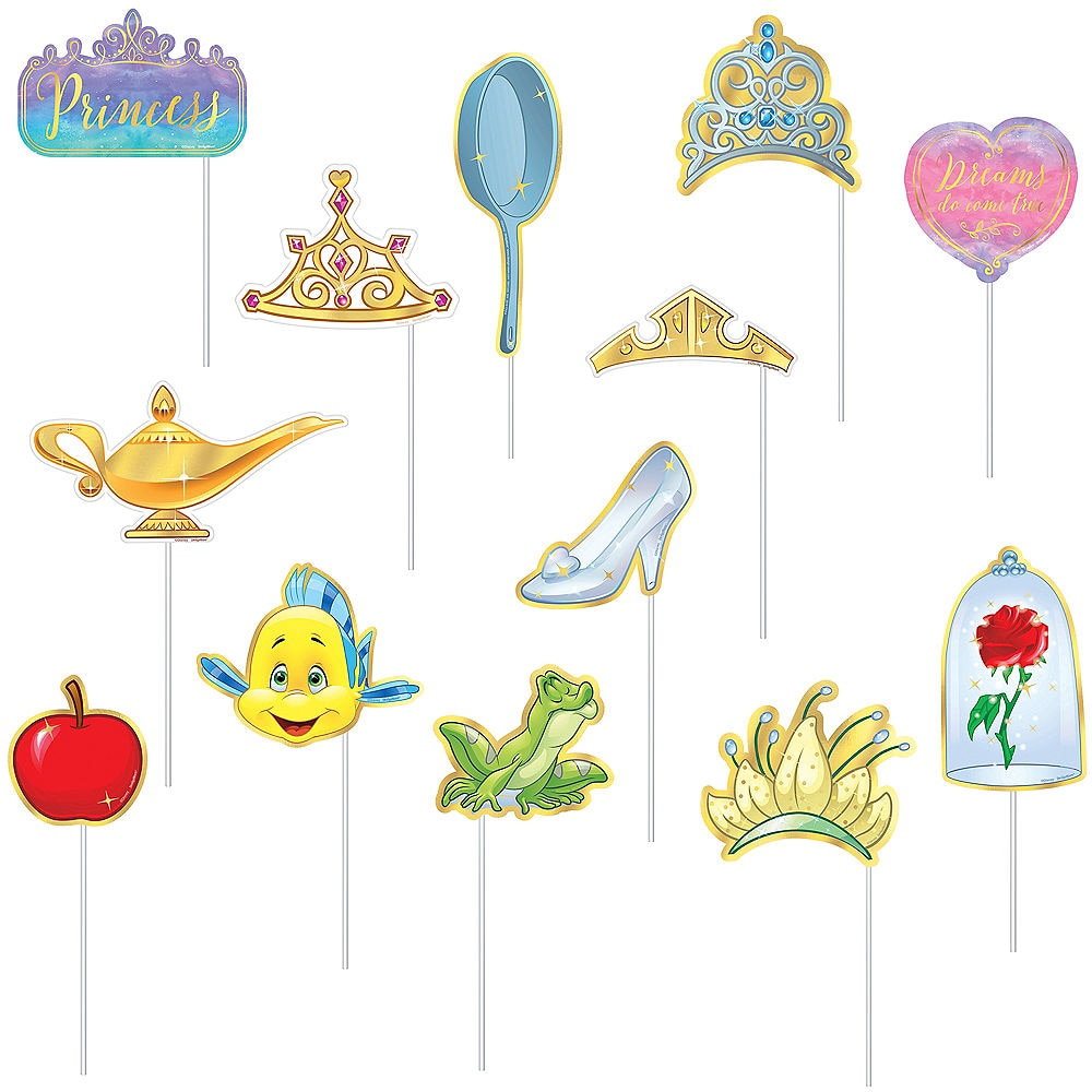 Disney Princess Photo Props