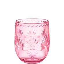Load image into Gallery viewer, Pink Elegant Boho Plastic Glassware
