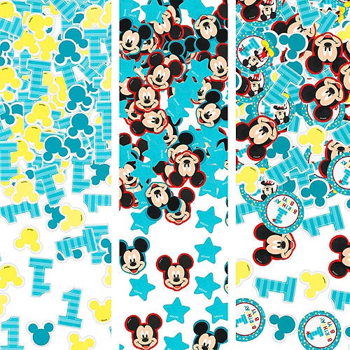 Mickey Mouse 1st Birthday Confetti