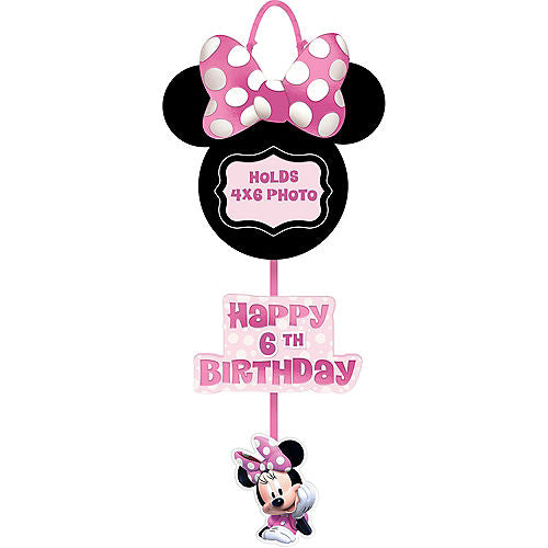 Minnie Mouse Personalized Photo Sign