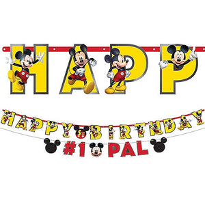 Mickey Mouse Jumbo Letter Banner Kit