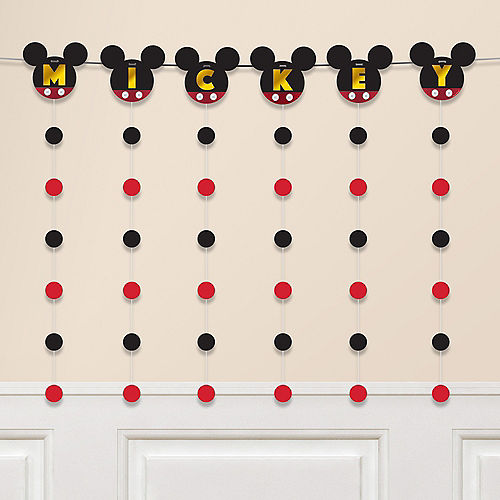 Mickey Mouse Banner String Decoration Kit