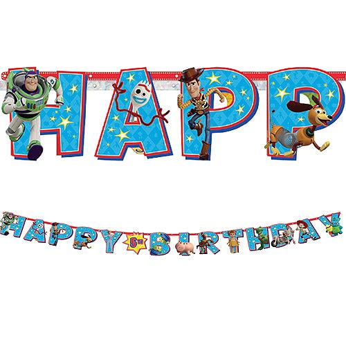 Toy Story Add-An-Age Jumbo Letter Banner Kit