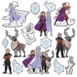 Frozen Puffy Stickers