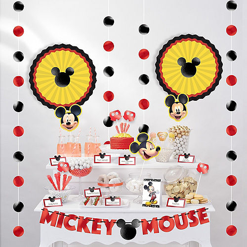 Mickey Mouse Buffet Table Decorating Kit