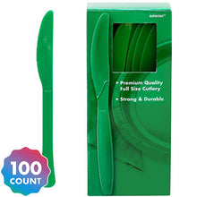 Load image into Gallery viewer, Party Pack Premium Plastic Knives 100ct