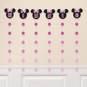 Minnie Mouse Banner String Decoration Kit