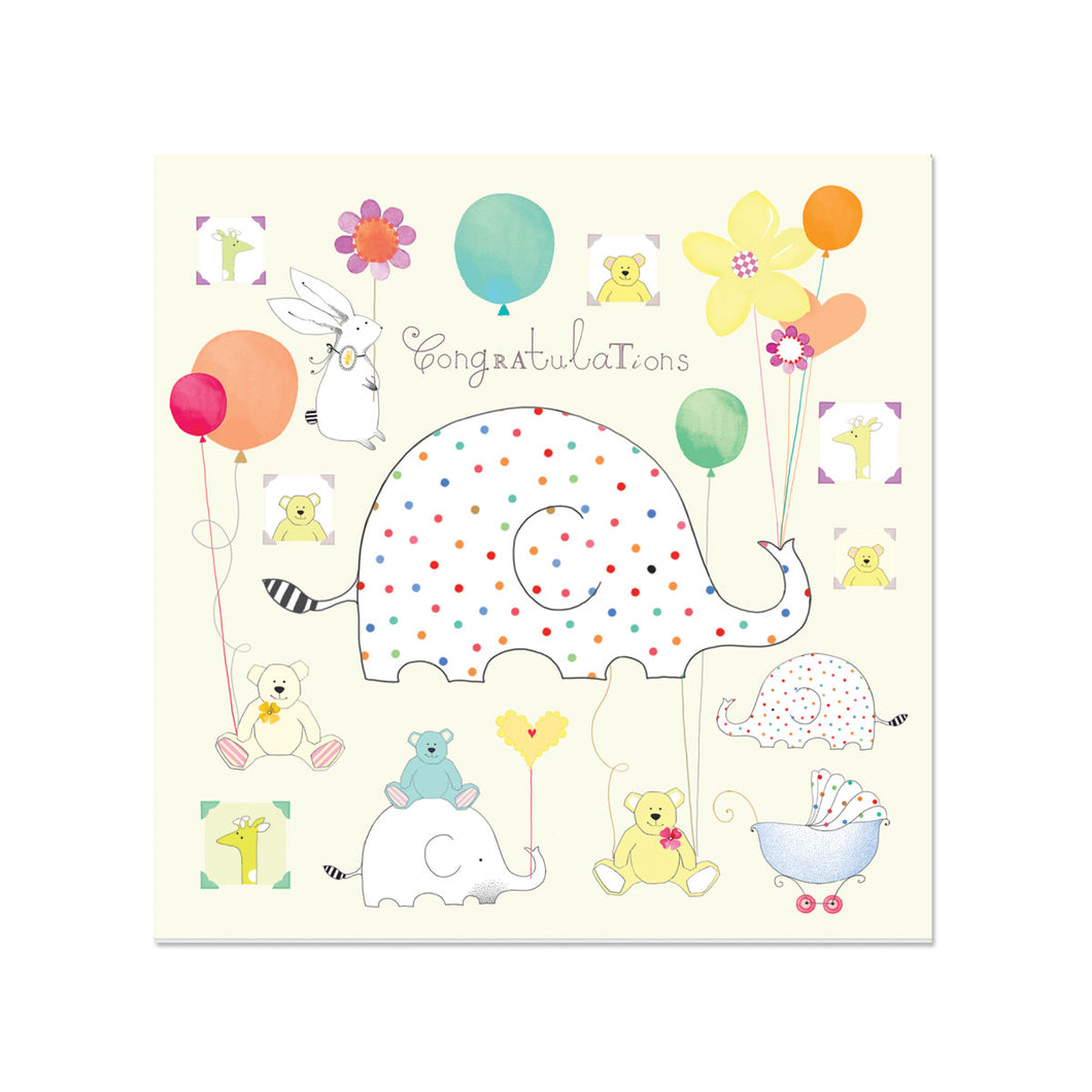 Congratulations New Baby Greeting Card