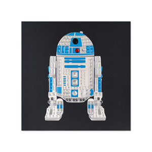 R2-D2 Star Wars Birthday Card