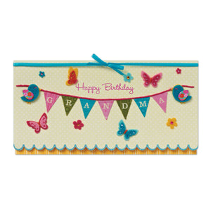 Happy Birthday Grandma Greeting Card