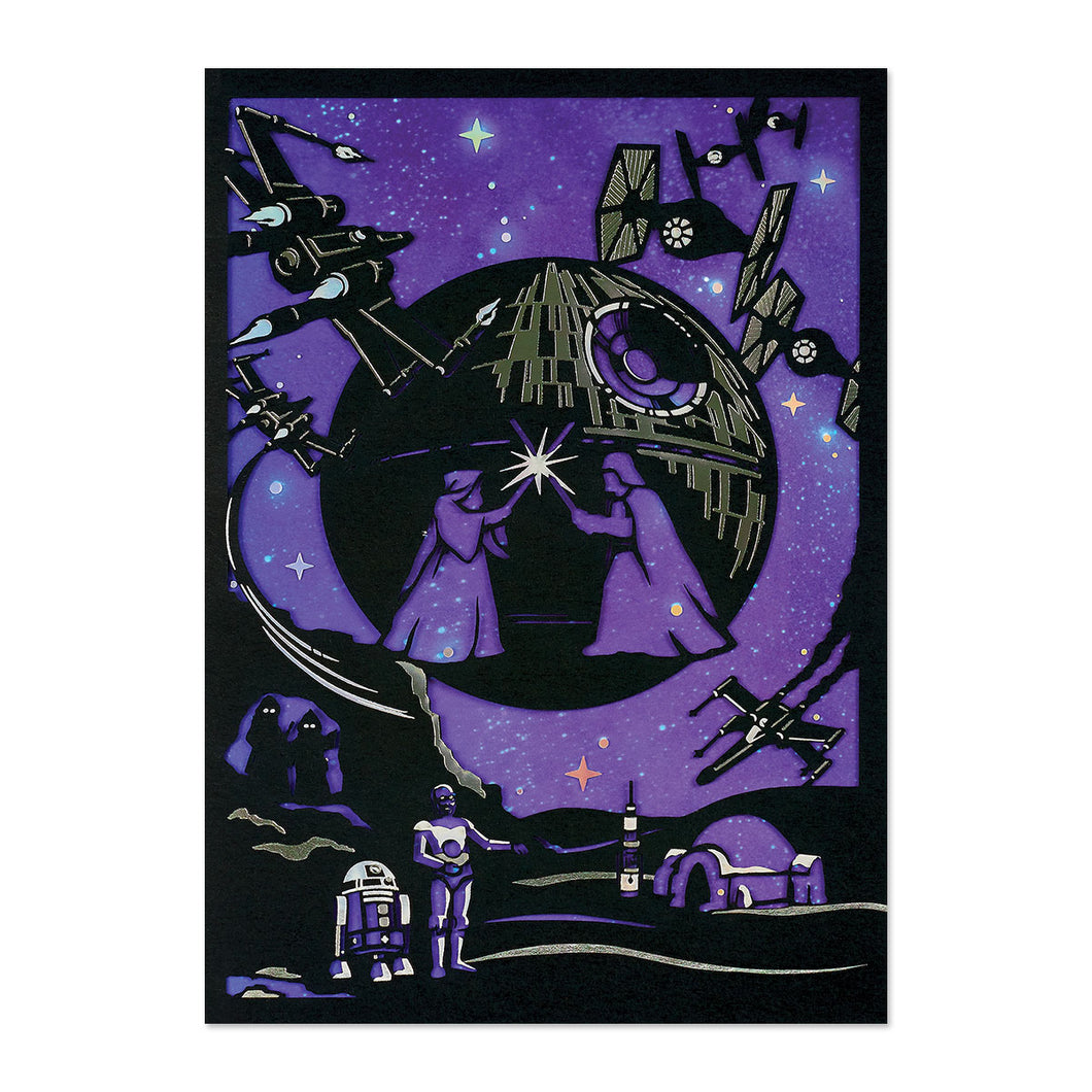 Star Wars Birthday Greeting Card