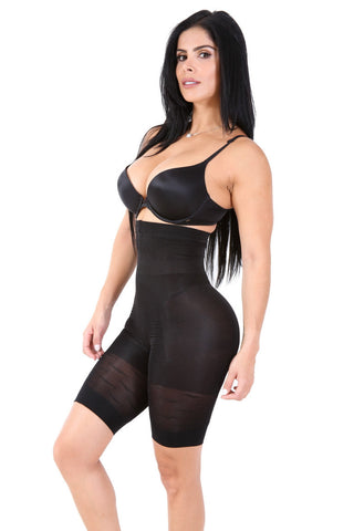 Smok69 Smok69 Fabulous High-Waisted Black or Nude Thigh Hugger  - 1
